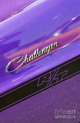 Photograph - Challenger Rt Badging by Mark Spearman