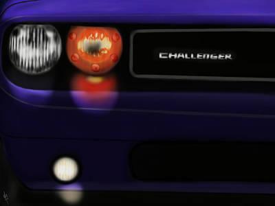Challenger Digital Art - Challenger Srt8  by Mathieu Lalonde