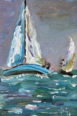 Challenging Waters Art Print by Michael Helfen