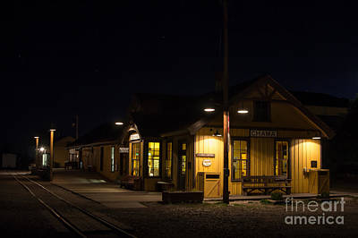 Photograph - Chama Depot 1 by Jim McCain