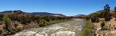 Chama River A Major Tributary River Art Print by Panoramic Images