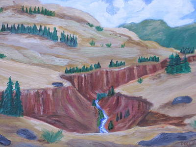 Chama River Painting - Chama River by David Delaney