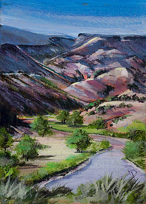 Chama River Painting - Chama River by Donna Page