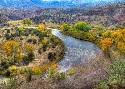 Chama River Overlook Art Print