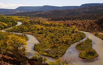 Photograph - Chama River by Robert Lozen