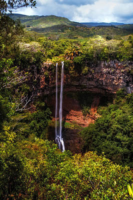 Photograph - Chamarel Waterfall 1. Mauritius by Jenny Rainbow