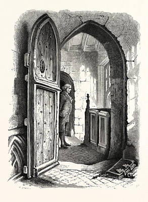 Chamber In Warwick Church, Uk, Britain, British Print by English School