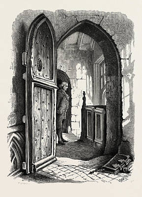 Chamber In Warwick Church, Uk Art Print by English School