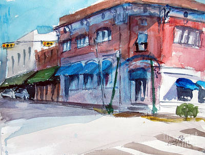 Chamber Of Commerce Mineola Tx Art Print by Ron Stephens
