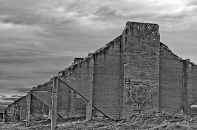 Photograph - Chambers Bay Architectural Ruins II by Tikvah's Hope