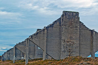 Photograph - Chambers Bay Architectural Ruins by Tikvah's Hope