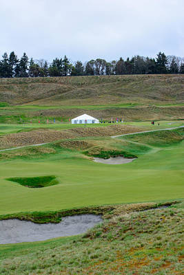 Photograph - Chambers Bay Golf Celebration by Tikvah's Hope
