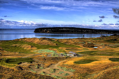 Chambers Bay Golf Course Art Print