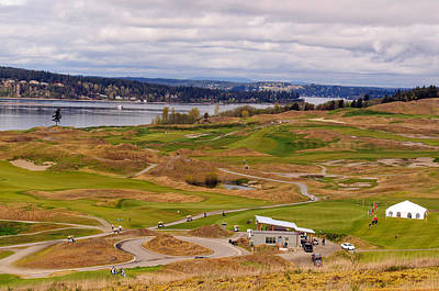 Photograph - Chambers Bay Golf Course II by Tikvah's Hope