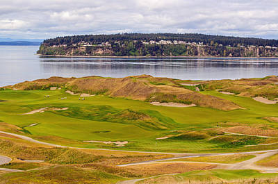 Photograph - Chambers Bay Golf Course IIi by Tikvah's Hope