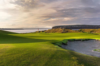 #9 At Chambers Bay Golf Course Original