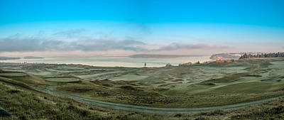 Photograph - Chambers Bay Panorama by E Faithe Lester