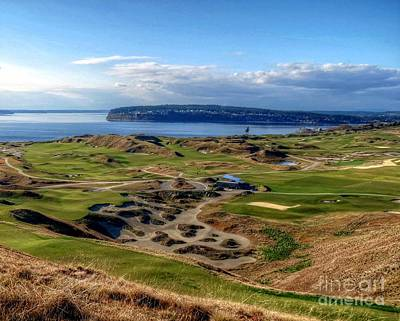 Photograph - Chambers Bay View 2013 Cropped by Chris Anderson