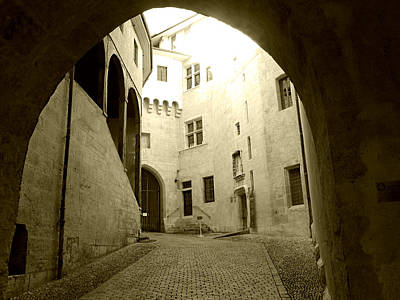 Photograph - Chambery France Gate by Katie Wing Vigil