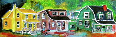 Woodenhouses Painting - Chambly Quebec by Michael Litvack