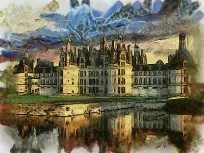 Chambord Castle Art Print by Georgi Dimitrov