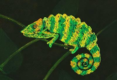 Dragons Pastel - Chameleon by Anastasiya Malakhova