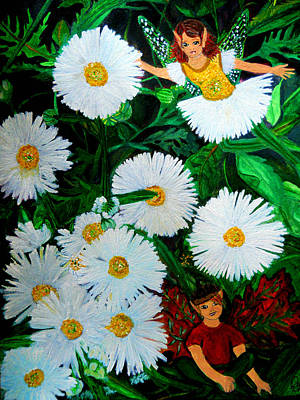 Painting - Chamomile by Dayna Winters