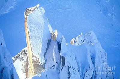 Chamonix Aiguille Du Midi, French Alps Art Print by Adam Sylvester