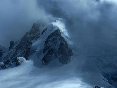 Photograph - Chamonix Drama by Frank Wilson