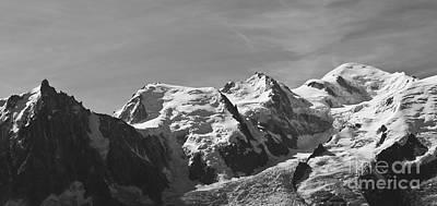 Photograph - Chamonix Mont Blanc by Camilla Brattemark