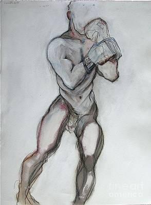 Champ Art Print by Carolyn Weltman