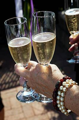 Champagne Glasses Photograph - Champagne Celebration by Jim West