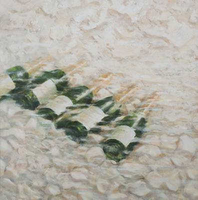 Champagne Painting - Champagne Cooling by Lincoln Seligman