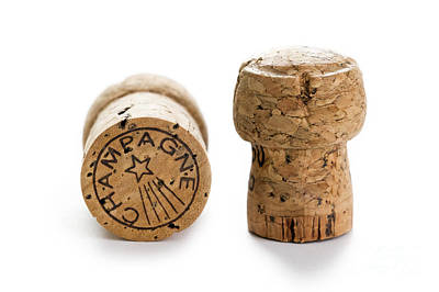 Photograph - Champagne Corks by Lee Avison