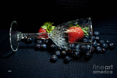 Photograph - Champagne Fruit by Crystal Harman