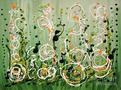 Painting - Champagne Symphony by Holly Carmichael