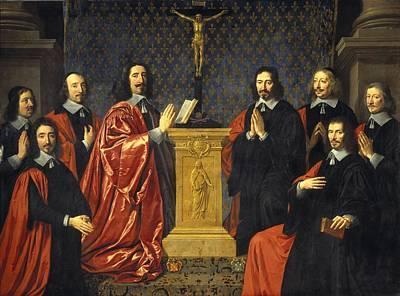 City Council Photograph - Champaigne, Philippe De 1602-1674. The by Everett