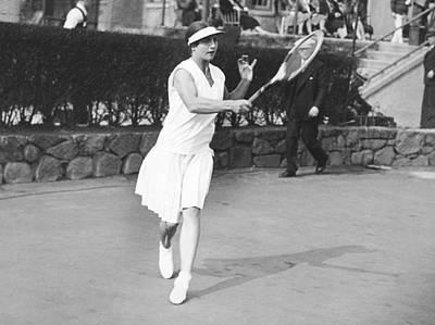 Champion Helen Wills Moody Art Print by Underwood Archives