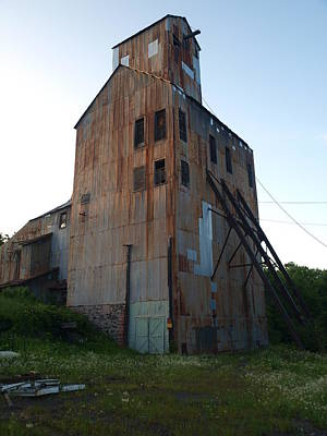Photograph - Champion Mine Shafthouse by Jenessa Rahn