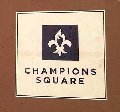 Photograph - Champions Square by Deborah Lacoste