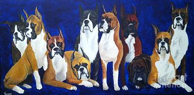 Art Print featuring the painting Champions by Vonda Lawson-Rosa
