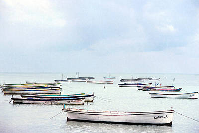 Photograph - Champoton Fish Boats by Robert  Rodvik