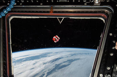 Free Fall Photograph - Chance In Space by Nasa