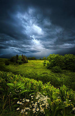 Winter Storm Photograph - Chance Of Rain by Phil Koch