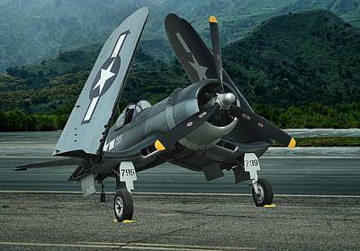 Photograph - Chance Vought F4u Corsair by Michael Gordon