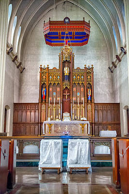 Photograph - Chancel by Sennie Pierson