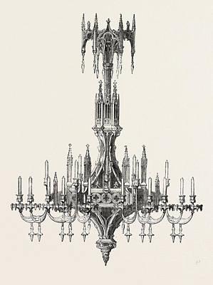 Chandelier, From France Art Print