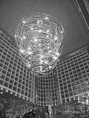 Photograph - Chandelier by Lyric Lucas