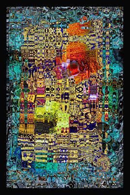 Chandelier Mosaic 1 Art Print