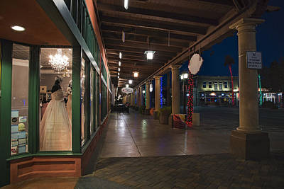 Photograph - Chandler Arizona Boardwalk  by Dave Dilli